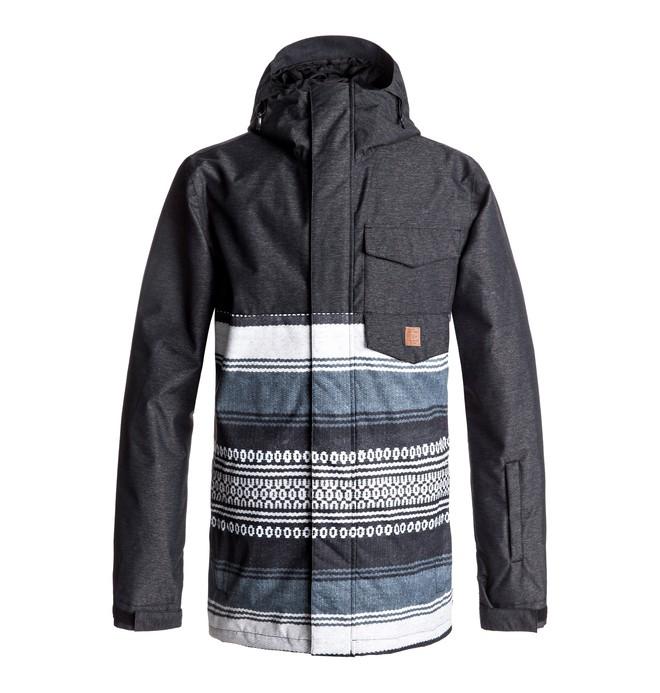 0 Men's Merchant Snow Jacket Black EDYTJ03044 DC Shoes
