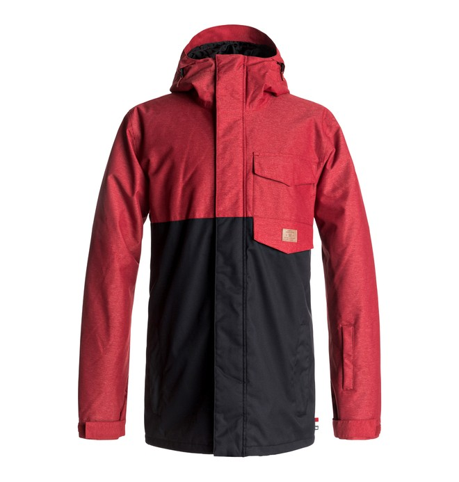 0 Merchant - Snow Jacket Red EDYTJ03044 DC Shoes
