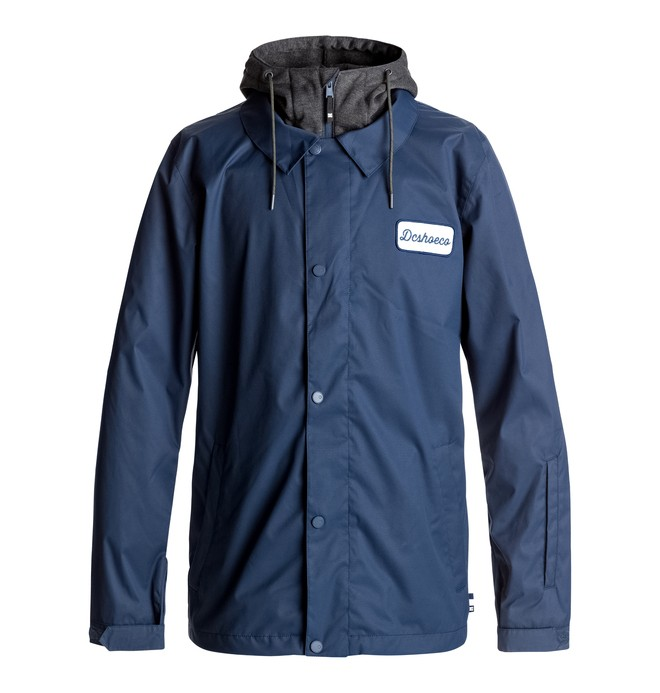 0 Cash Only - Snowboard Coach Jacket Blue EDYTJ03045 DC Shoes