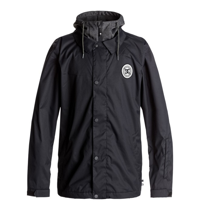 0 Cash Only - Snowboard Coach Jacket Black EDYTJ03045 DC Shoes