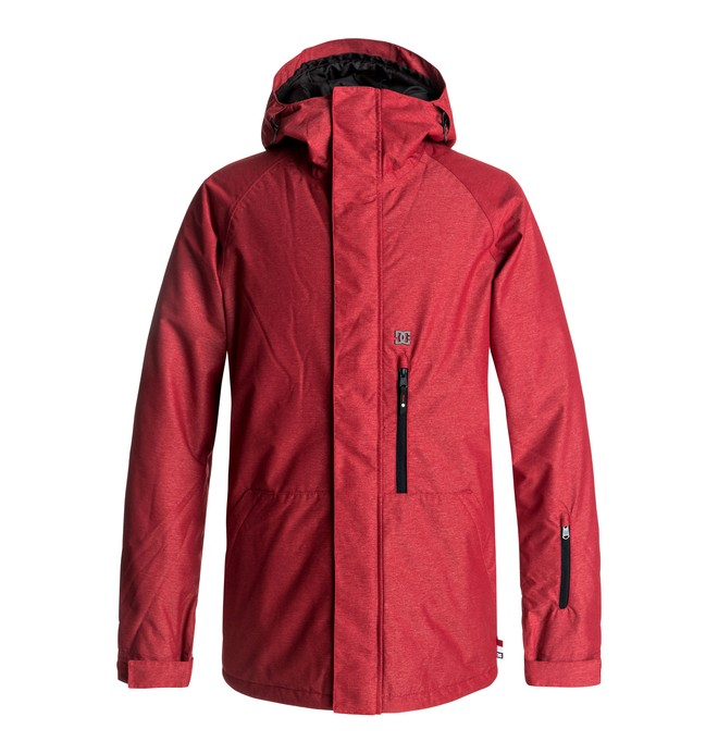 0 Men's Ripley Snow Jacket Red EDYTJ03049 DC Shoes