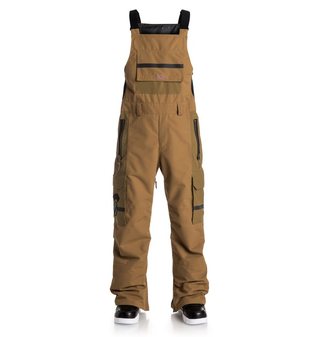 0 Platoon - Bib Snow Pants  EDYTP03010 DC Shoes