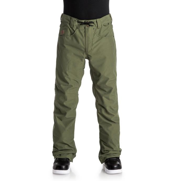 0 Men's Relay Snow Pants Green EDYTP03016 DC Shoes