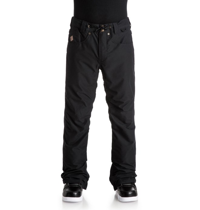 0 Men's Relay Snow Pants Black EDYTP03016 DC Shoes