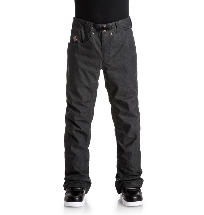 0 Men's Relay Snow Pants Black EDYTP03016 DC Shoes