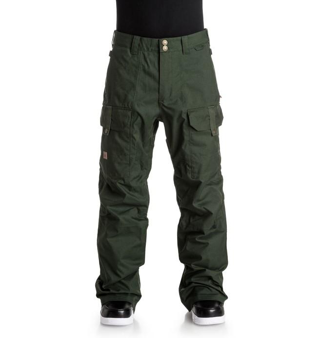0 Code - Snow Pants Brown EDYTP03019 DC Shoes