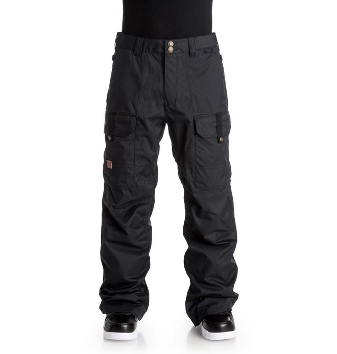 0 Men's Code Snow Pants Black EDYTP03019 DC Shoes