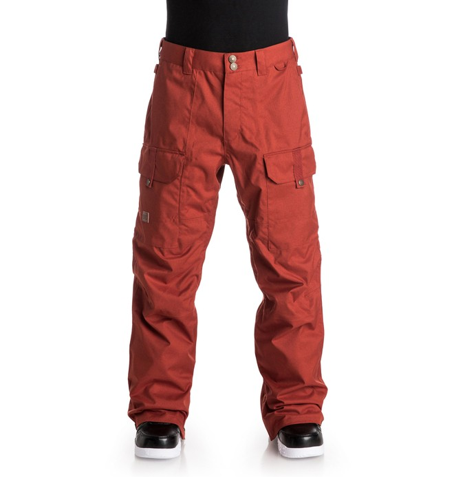 0 Code - Snow Pants Red EDYTP03019 DC Shoes