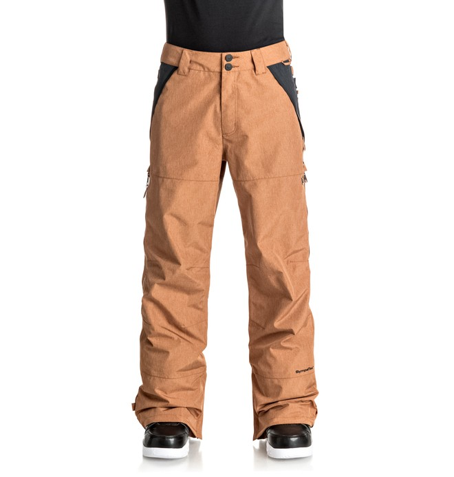 0 Men's Nomad Snow Pants Brown EDYTP03023 DC Shoes