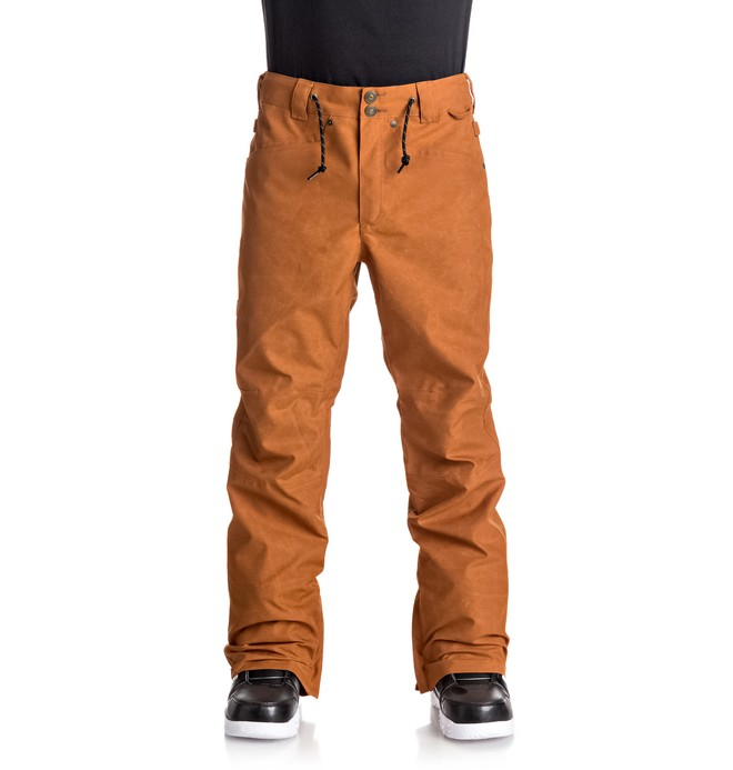 0 Relay - Snow Pants Brown EDYTP03025 DC Shoes