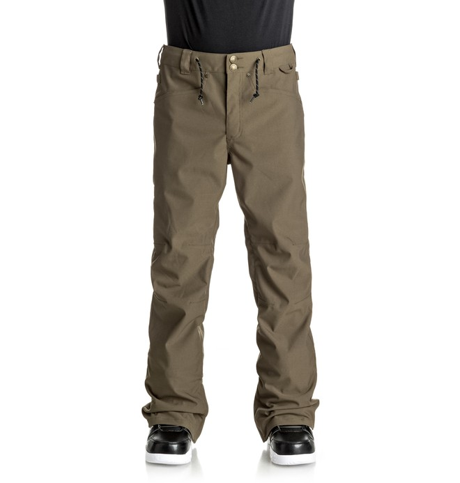 0 Men's Relay Snow Pants Brown EDYTP03025 DC Shoes