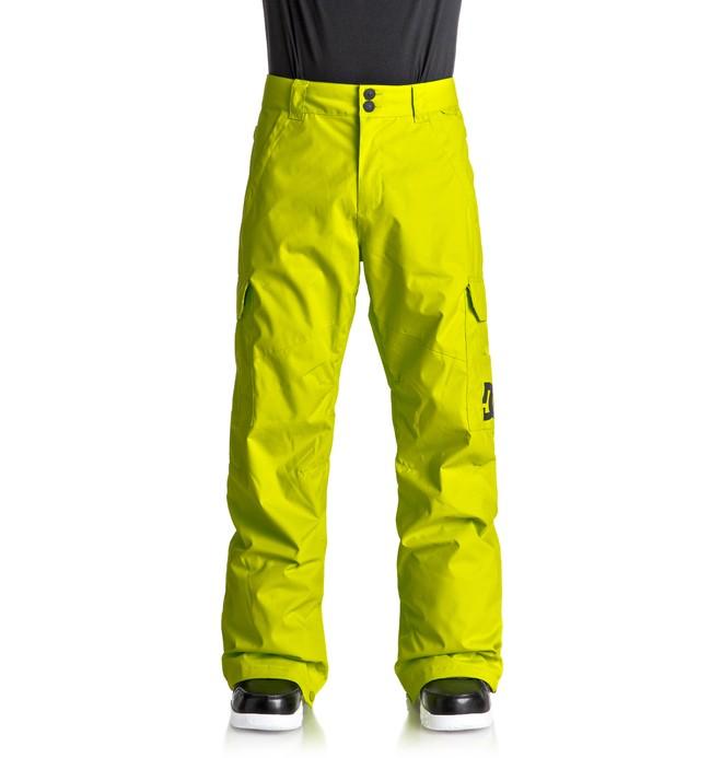 0 Banshee - Pantaloni da snowboard Green EDYTP03028 DC Shoes