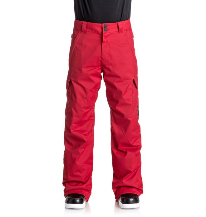 0 Сноубордические штаны Banshee Красный EDYTP03028 DC Shoes