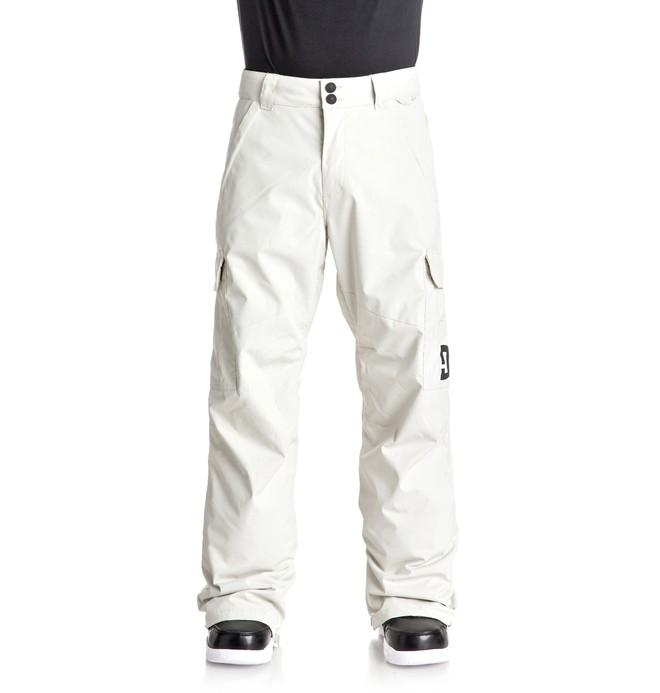 0 Men's Banshee Snow Pants White EDYTP03028 DC Shoes