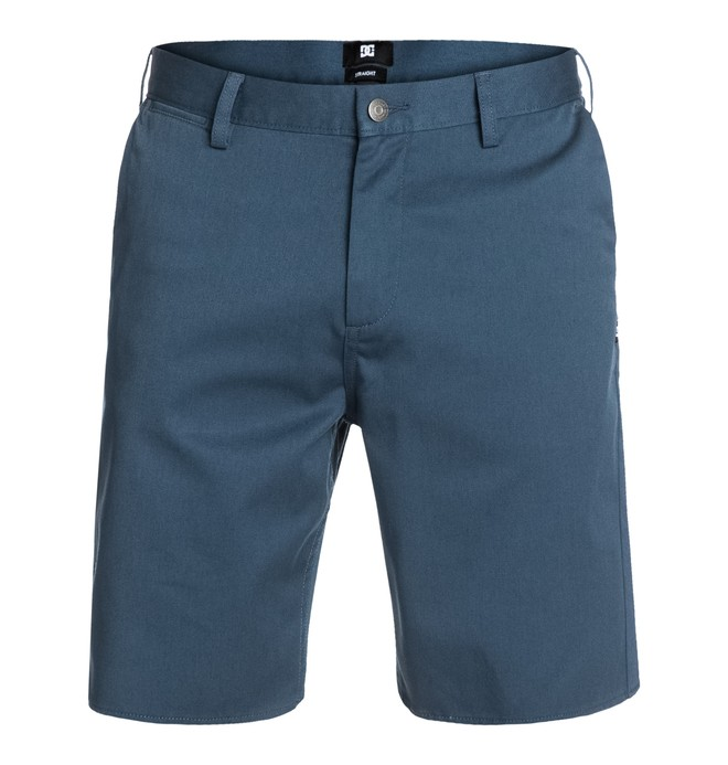 0 DC Worker Straight Shorts Blue EDYWS03000 DC Shoes