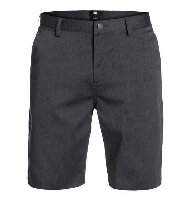 0 DC Worker Straight Shorts Black EDYWS03000 DC Shoes