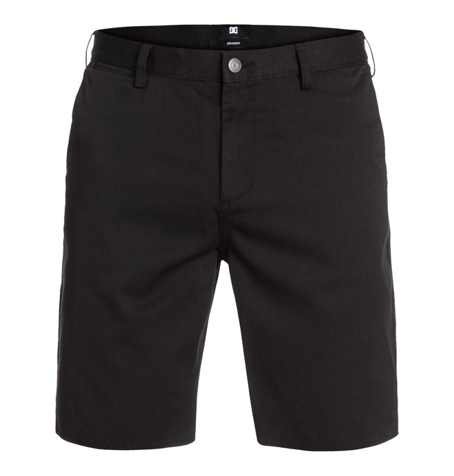 DC WORKER STRAIGHT SHORT Black EDYWS03000