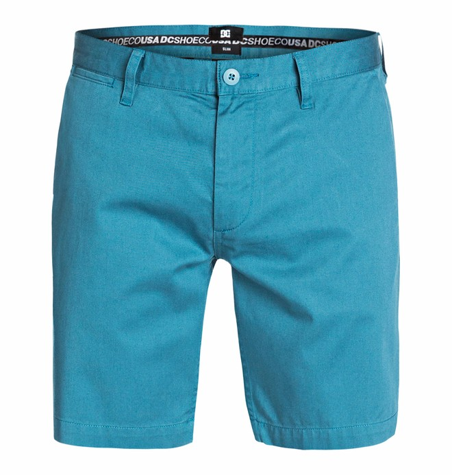 0 Men's Worker Slim 18 Shorts  EDYWS03024 DC Shoes