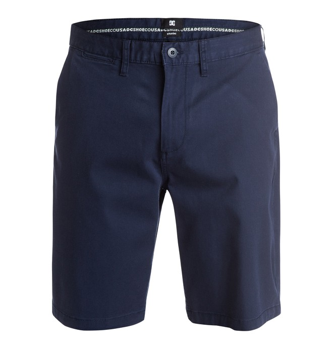 """0 Men's Worker Straight Fit 20.5"""" Shorts  EDYWS03037 DC Shoes"""