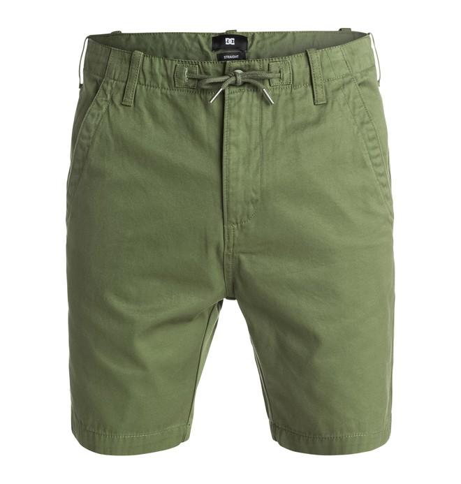 0 Fatigue - Shorts Green EDYWS03049 DC Shoes