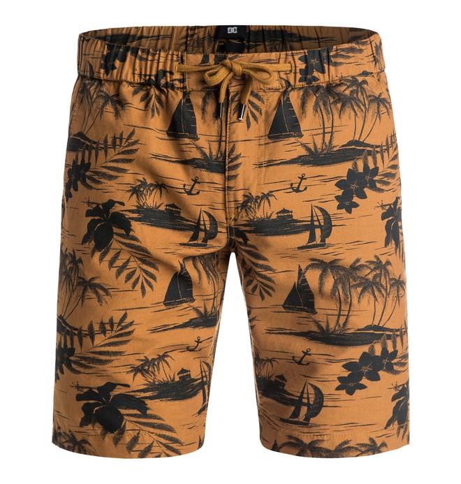 0 Ilford - Shorts Orange EDYWS03050 DC Shoes