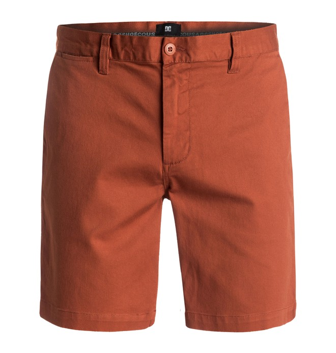 0 Worker Slim - Shorts Brown EDYWS03052 DC Shoes