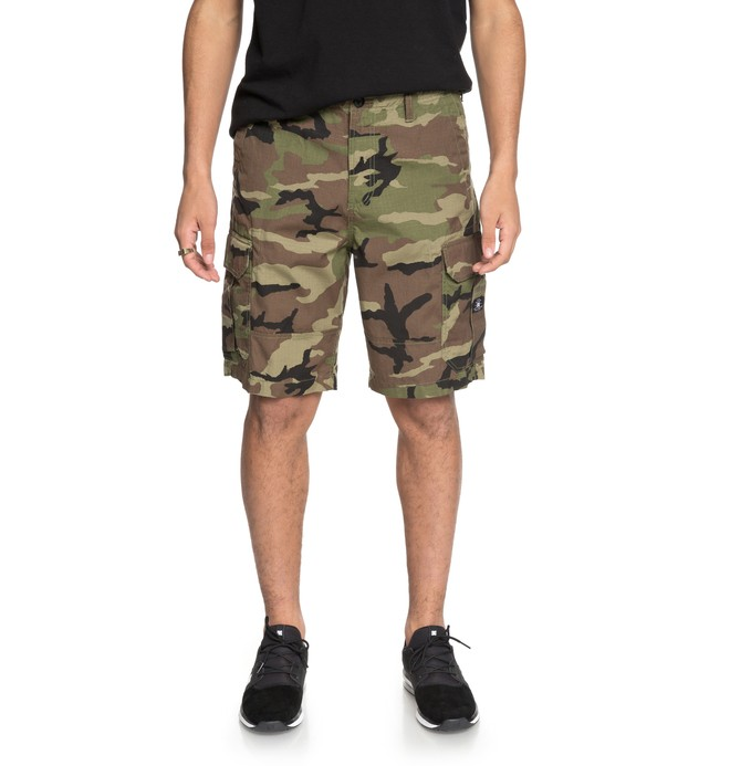 "0 Ripstop 21"" - Cargo Shorts Green EDYWS03054 DC Shoes"