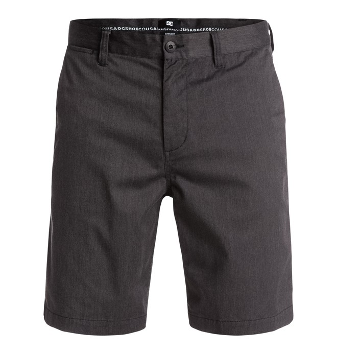 0 Men's Worker Heather Straight Shorts  EDYWS03055 DC Shoes