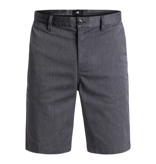 0 Worker Heather Straight - Shorts Blue EDYWS03055 DC Shoes