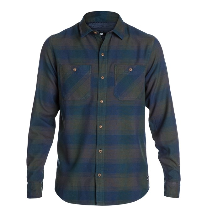 0 Richmond LS Shirt Blue EDYWT03008 DC Shoes