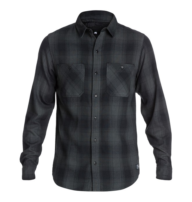 0 Richmond LS Shirt Black EDYWT03008 DC Shoes