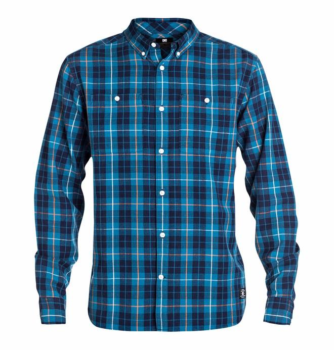 0 Men's South Ferry Long Sleeve Shirt  EDYWT03017 DC Shoes