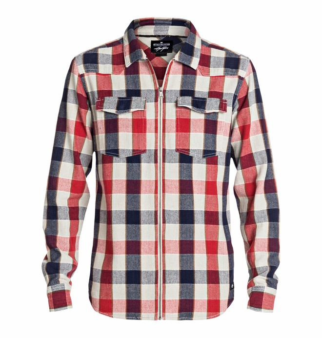 0 Men's Cole Steamtown Long Sleeve Shirt  EDYWT03026 DC Shoes