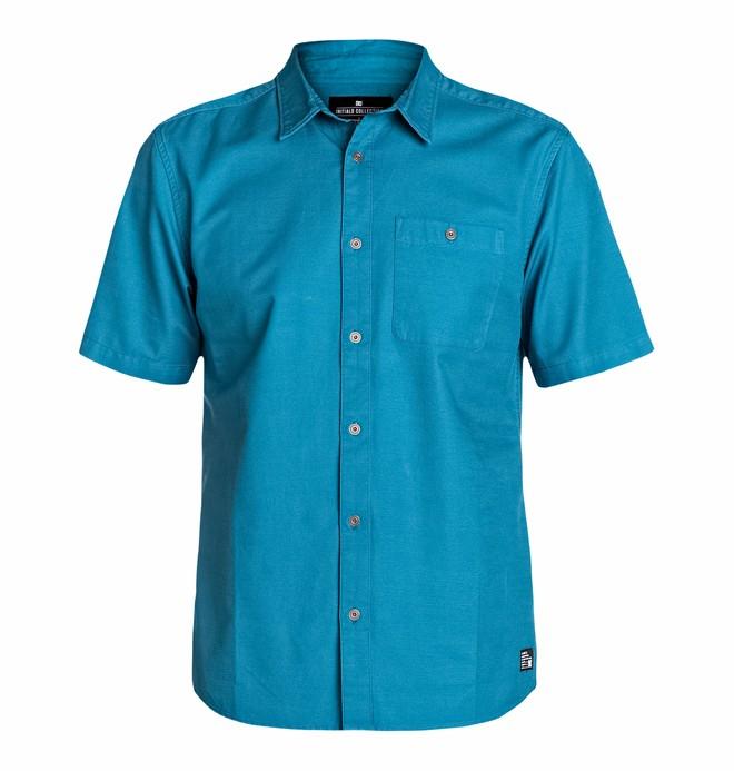 0 Men's Mikey Amber Short Sleeve Shirt  EDYWT03027 DC Shoes