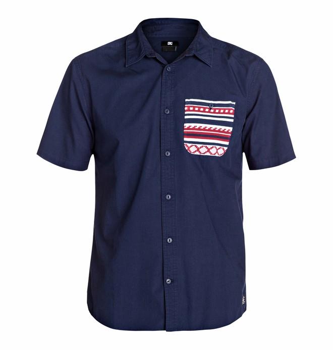 0 Men's Farjacq Short Sleeve Shirt  EDYWT03033 DC Shoes