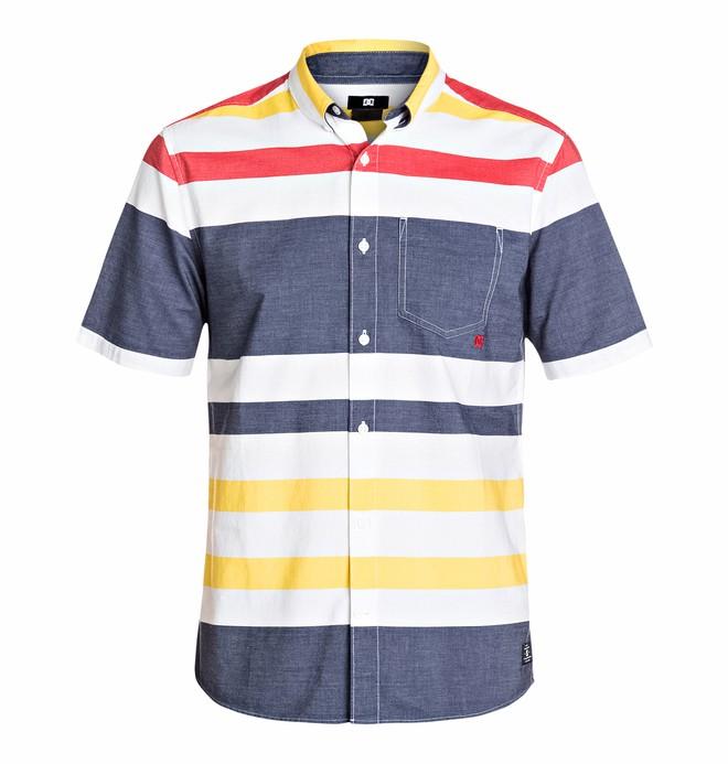 0 Men's Lenox Hill Short Sleeve Shirt  EDYWT03035 DC Shoes