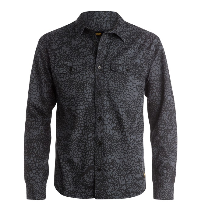 0 Men's Woodwork Long Sleeve Shirt  EDYWT03065 DC Shoes