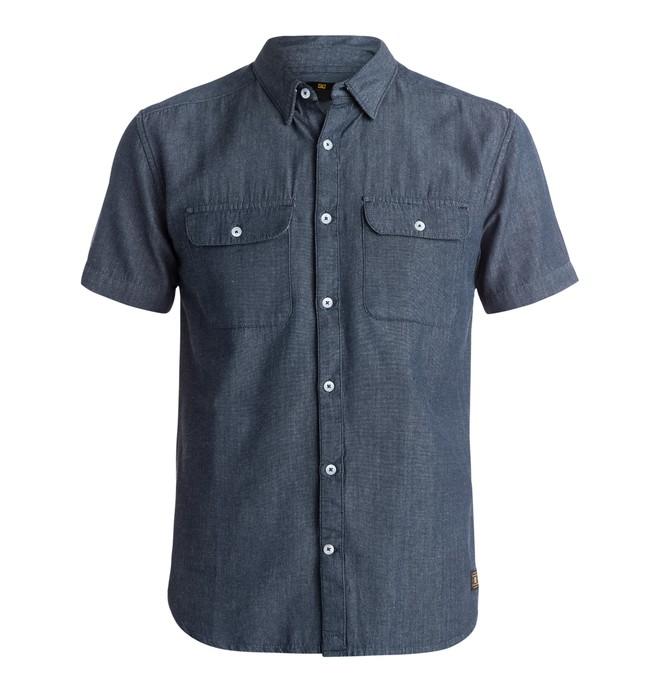 0 Men's Oxford Brookes Short Sleeve Shirt  EDYWT03068 DC Shoes