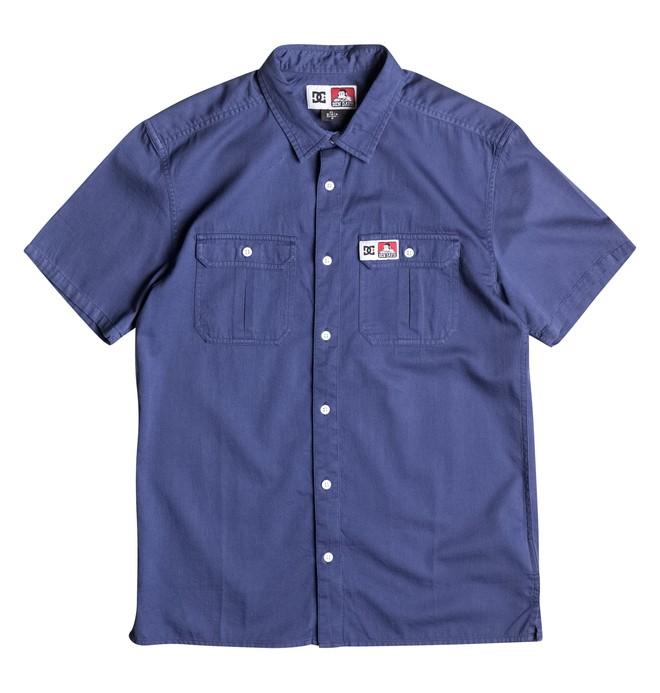 0 Men's Ben Davis Short Sleeve Shirt  EDYWT03074 DC Shoes