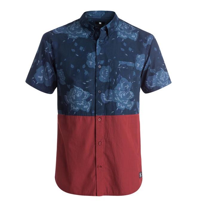 0 Responsive - Short Sleeve Shirt Blue EDYWT03078 DC Shoes