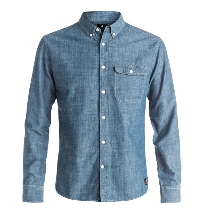 0 Men's Riot Van Long Sleeve Shirt  EDYWT03081 DC Shoes