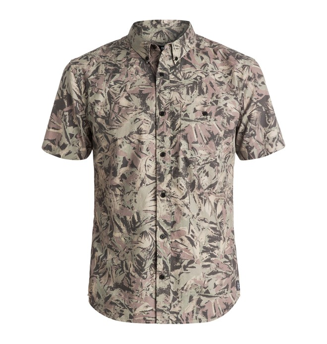 0 Vacation - Short Sleeve Shirt Black EDYWT03095 DC Shoes
