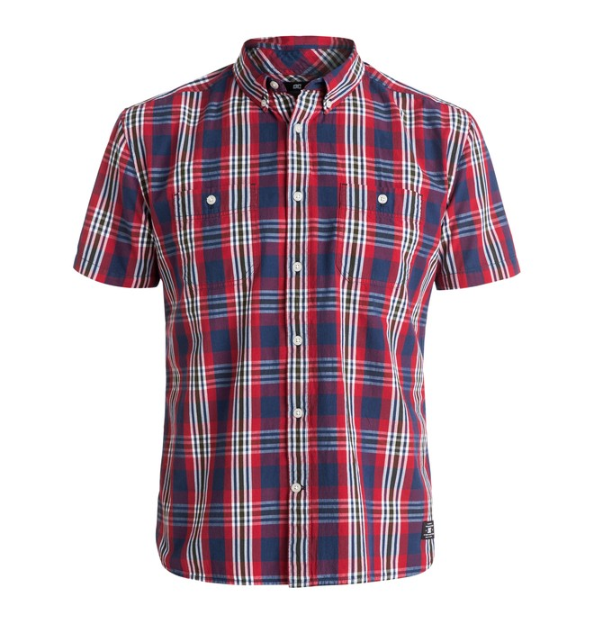 0 Men's Standish Short Sleeve Shirt  EDYWT03096 DC Shoes