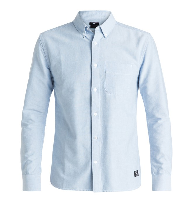 0 Oxford - Long Sleeve Shirt Blue EDYWT03104 DC Shoes