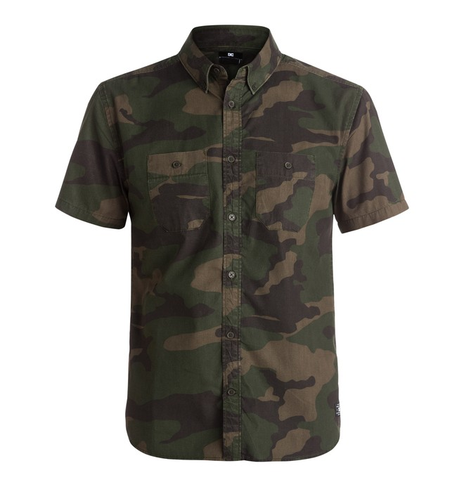 0 Men's Zilkers Short Sleeve Shirt  EDYWT03113 DC Shoes
