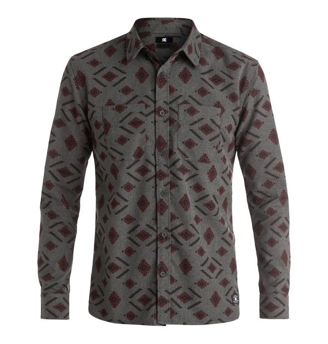 0 Men's Bowen Dale Flannel Long Sleeve Shirt  EDYWT03114 DC Shoes