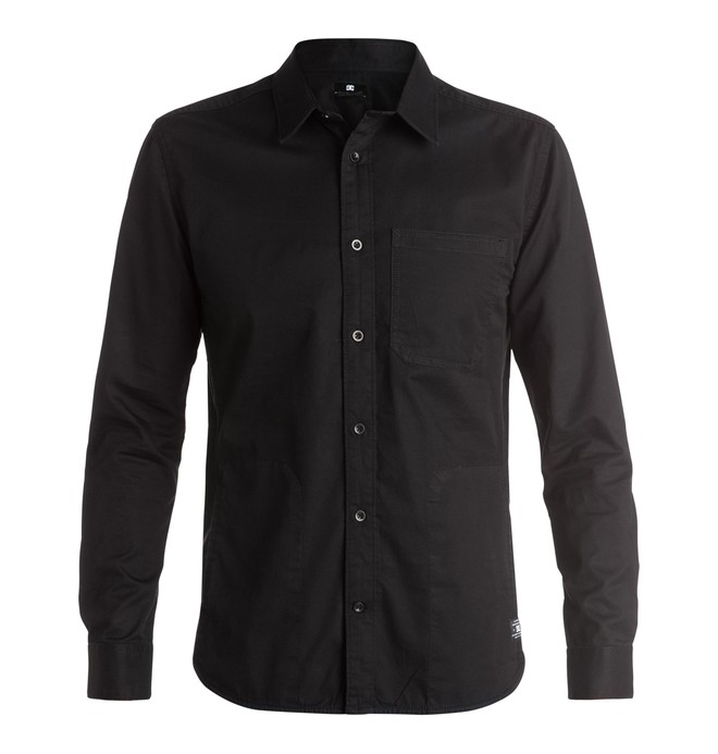 0 SPT - Long Sleeve Shirt Black EDYWT03118 DC Shoes