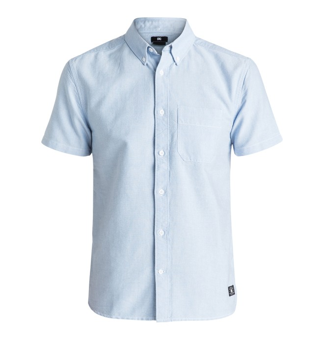 0 Men's Oxford Short Sleeve Shirt  EDYWT03119 DC Shoes
