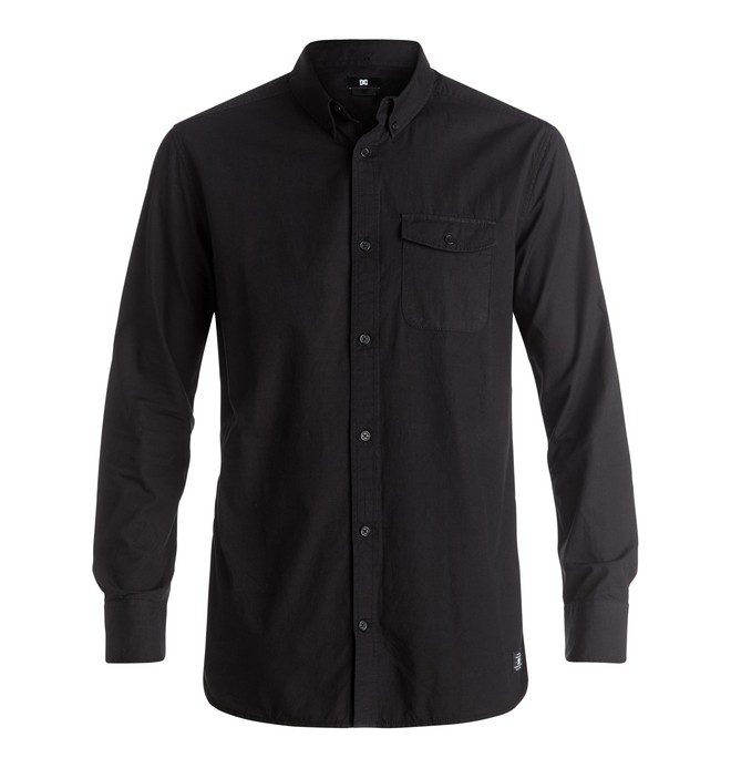 0 Naperville - Long Sleeve Shirt Black EDYWT03130 DC Shoes