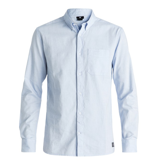 0 Oxford - Long Sleeve Shirt Blue EDYWT03143 DC Shoes